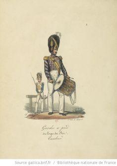 [Maison du Roi et garde royale de Louis XVIII, 1817.] / Ch. Aubry - 8