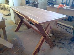 http://woodguy.co.za Patio Table
