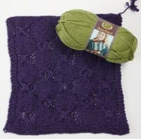 Heartland by Lion Brand Yarns - FREE knit block pattern from Love of Knitting magazine
