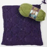 Heartland by Lion Brand Yarns - FREE knit block pattern from Love of Knitting magazine