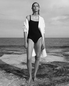 Mali Koopman by Alexandra Nataf for Unconditional Magazine Spring-Summer 2016 - Minimal. Swimwear Model, Swimwear Fashion, Bikini Fashion, Bikini Swimwear, Si Swimsuit, Beach Editorial, Editorial Fashion, Lingerie Editorial, Fashion Shoot