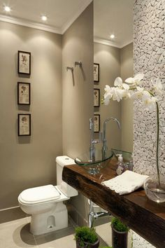 Astonishing Like It For A Half Bathroom Interior Design Pinterest Poudre Largest Home Design Picture Inspirations Pitcheantrous