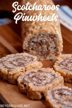 Scotcharoos pinwheels are a peanut butter rice Krispies and chocolate roll recipe that combines crispy rice cereal, peanut butter, sugar, and corn syrup then topped off and rolled with melted… More
