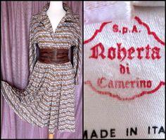 Roberta di Camerino dress / vintage Roberta di by OGOvintage
