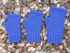 Free Crochet Pattern - Fingerless Mittens