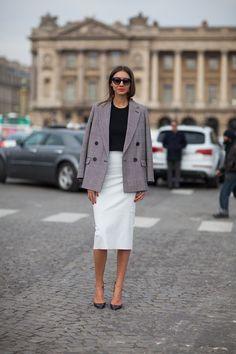 Paris Street Style Fall 2013 - Paris Fashion Week Style Fall 2013 - Harper's BAZAAR