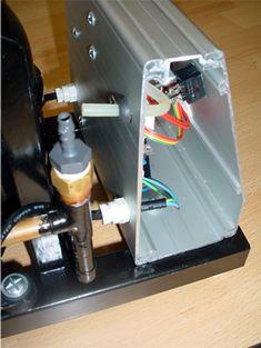 Réalisation Map Sensor, Espresso Machine, Cnc, Kitchen Appliances, Homemade Tools, Homemade, Hipster Stuff, Diy Home Automation, Vacuum Pump