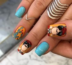 2019 Latest Nail Designs You Should Try Latest Nail Designs, Pretty Nail Designs, Nail Art Designs, Perfect Nails, Gorgeous Nails, Pretty Nails, Minimalist Nails, Mexican Nails, Nail Design Glitter