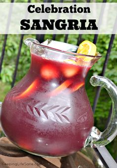 Celebration Summer Sangria