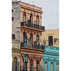 Facade / Fachada Building facade facing the malecon. Havana, Cuba