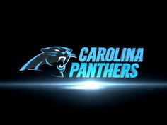 The new logo for the Carolina Panthers...my favorite NFL team.