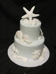 beach cake.