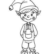 Dibujo Para Colorear Duende De Navidad Para Pintar El Dibujo De Duende De Dibujo Navidad Para Colorear Duendes De Navidad Dibujos De Navidad Para Imprimir