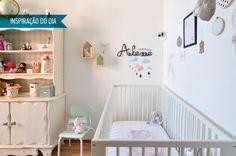 Inspiração do dia: quarto de bebê com tons pastel e DIYs fofos