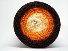hand dyed yarn hand painted yarn by WeeChickadeeWoolery on Etsy Knitting Ideas, Knitting Projects, Dyeing Yarn, Ombre Yarn, Sock Yarn, Thread Crochet, Hand Dyed Yarn, Yarn Colors, Dyes