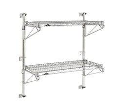 INTERCHANGEABILITY, FLEXIBILITY and ADAPTABILITY….Metro Wall Shelving is ideal… Kitchen Wall Rack, Wall Shelving Systems, Wall Mounted Shelves, Shelf, Deep Shelves, Wall Mount Bracket, Wall Racks, Commercial Kitchen, Work Surface