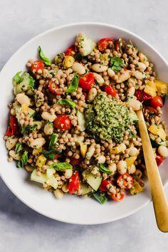 Pesto Couscous Salad