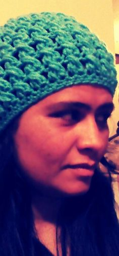 Crochet beanie pattern by Yolanda Soto Lopez