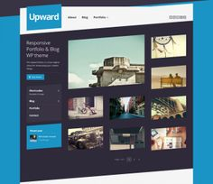 upward 650x562 Best Responsive WordPress Themes of the Week November 25, 2013 – December 1, 2013
