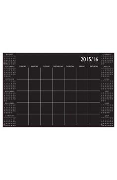 Wallpops Academic Dry Erase Calendar Wall Decal available at #Nordstrom