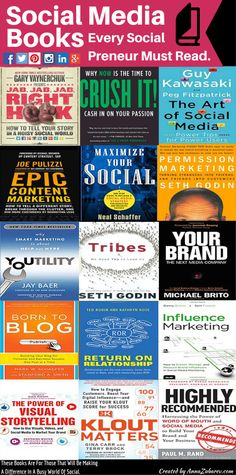 Leaders are readers.  Books are crucial part of our learning experience.  Therefore, I've created a list of books that can help an #entrepreneurs and  #smallbusiness grow their business.