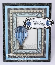 Heartfelt Creations | Blue Balloon Journey
