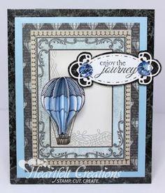 Heartfelt Creations | Blue Balloon Journey