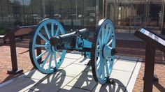 Swedish design French 4 pounder at Monmouth Battlefield State Park  - June 2014