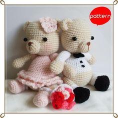 Cặp cô dâu chú rể gấu Teddy làm không hề phức tạp, rất thích họp cho các muốn làm món đồ trang trí trong phòng hay làm quà cưới. ...