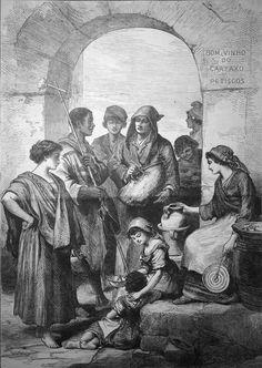 Types populaires à Lisbonne, Mars 1879
