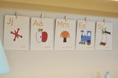 Use flashcards for name- too cute