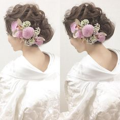 Pin on Obi / Japanese kimono Pin on Obi / Japanese kimono Kawaii Hairstyles, Pretty Hairstyles, Wedding Hairstyles, Wedding Notes, Our Wedding, Wedding Ideas, Wedding Kimono, Japanese Wedding, Hair Setting
