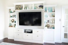 How to build an entertainment wall unit diy home ikea besta how to design and install . how to build an entertainment wall unit Ikea Algot, White Built Ins, Ikea Built In, Living Room Entertainment Center, Custom Entertainment Center, My Living Room, Small Living, New Homes, Layout