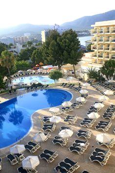 Pool at the Hotel Marina Torrenova 4*, Palma Nova, Mallorca.