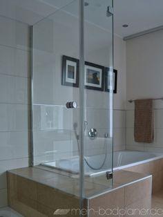 Duschkabine als Badewannenanschluss