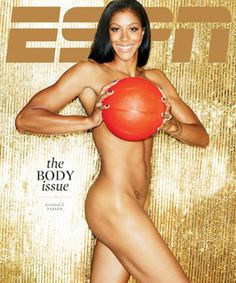 Candace Parker Nude ESPN Body Issue 2012..Click for all Pics