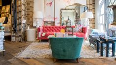 Inside Anthropologie & Co's Walnut Creek, California 30,000-square-foot superstore.   Source: Courtesy