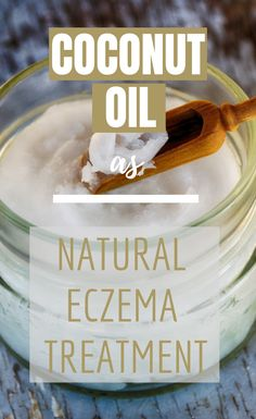 Eczema Remedies Coconut oil is rich in lauric acid, a healthful fatty acid. Lauric acid is an ingredient in natural remedies for all kinds of health issues, including eczema. Home Remedies For Eczema, Natural Cold Remedies, Cough Remedies, Herbal Remedies, Holistic Remedies, Herbal Cure, Health And Wellbeing, Health Benefits, Natural Remedies