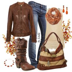"""""""Pure Fall Outfit"""" by lindakol on Polyvore"""