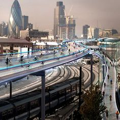 Planning: how will we live in the future? (Image © Foster + Partners)