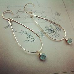 Fabulous dangle earrings by Julivan!