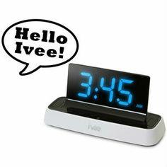Ivee Voice Activated Alarm Clock