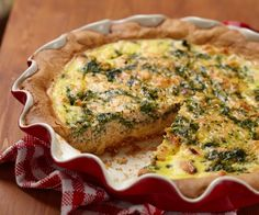 by Tiffany Ludwig Here is a recipe for the easiest, most adaptable quiche ever. I have made this for dinner parties, afternoon luncheons, breakfasts and brunches and it always meets rave reviews. What's so great about preparing a quiche is you can fill it with whatever ingredients and cheeses you have on hand, making it the perfect dish for last minute meals (plus it's absolutely acceptable to serve quiche at room temperature). This variety uses firm goat cheese along with onion, garlic and…