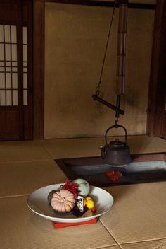 冬至の室礼 touji shitsurai