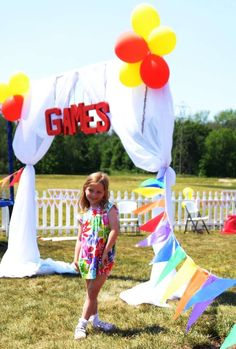 Backyard Carnival with Vintage Twist Birthday Party Ideas | Photo 13 of 35 | Catch My Party