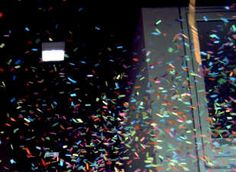 Confetti Shooter Magic handbediend