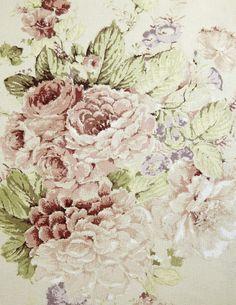 Faded Roses - Annie Sloan Fabrics