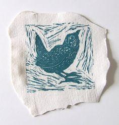 printing on paper clay slabs