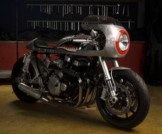 Barracuda - CB 750 silver Bullet from the Ocean by White Collar Bike
