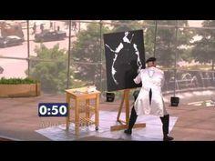 A la rencontre de... Francis Glénat, Artiste Peintre - YouTube
